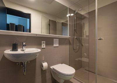 Badezimmer - möblierte Studentenwohnung in Hamburg