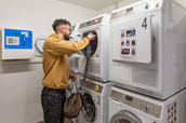 Laundry - Ausstattung möblierte 1-Zimmer-Wohnung Student Apartments Hamburg